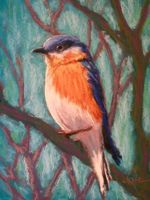 Great Demos on how to pastel paint from nature