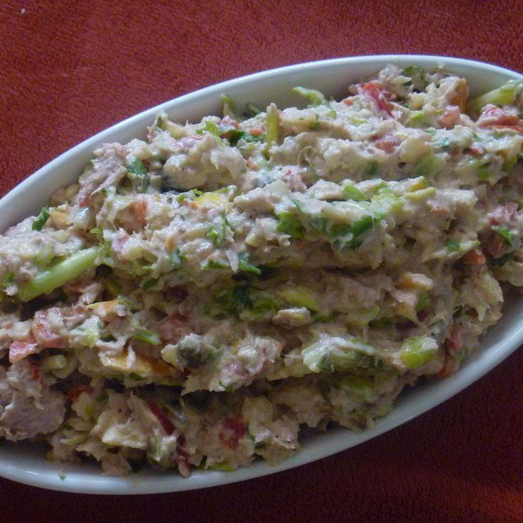 Rezept Leichter Thunfischsalat - blitzschnell von Barbara Wachtler - Rezept der Kategorie Vorspeisen/Salate