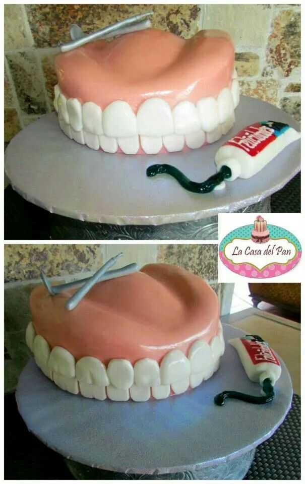 Dentist Cake. Follow Phan Dental Today!  https://www.facebook.com/phandentalyeg https://twitter.com/PhanDental