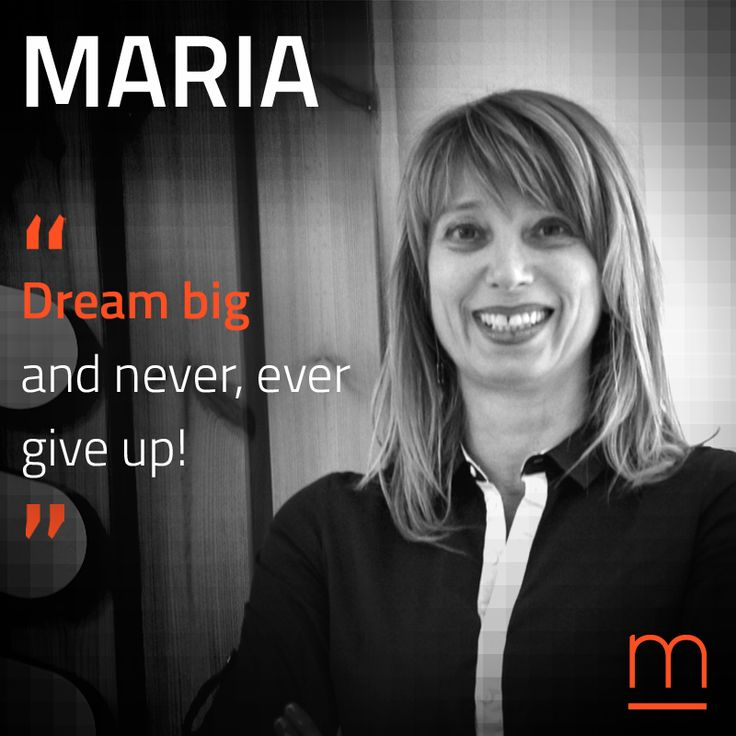 """Keep walking."" Welcome Telecoms Wonder Woman Maria Boura to our network of Experts for #TheAccelerator2016."