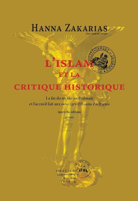 «Dans cette recherche de la Vérité, je me suis imposé une ascèse, l'ascèse la plus dure: celle de la liberté, adoptant la pure méthode de la recherche, de l'analyse et de l'exégèse désencombrée de toutes les sottises accumulées depuis des siècles sur le thème-Islam. Mes conclusions étonnent les historiens qui n'ont jamais pu sortir des ornières séculaires au fond desquelles gît un Islam de pacotille, de cartes postales, d'imagination, et d'invraisemblances véritablement insensées.