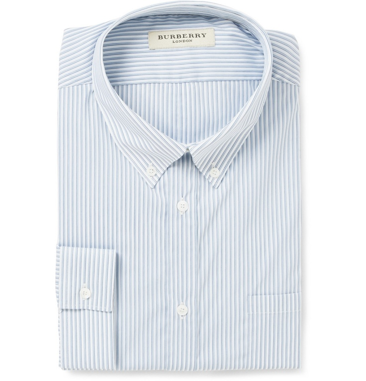 Burberry button-down cotton shirt from mrporter.com