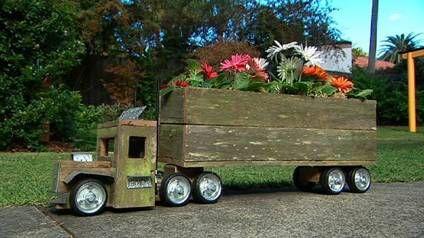 Road train planter