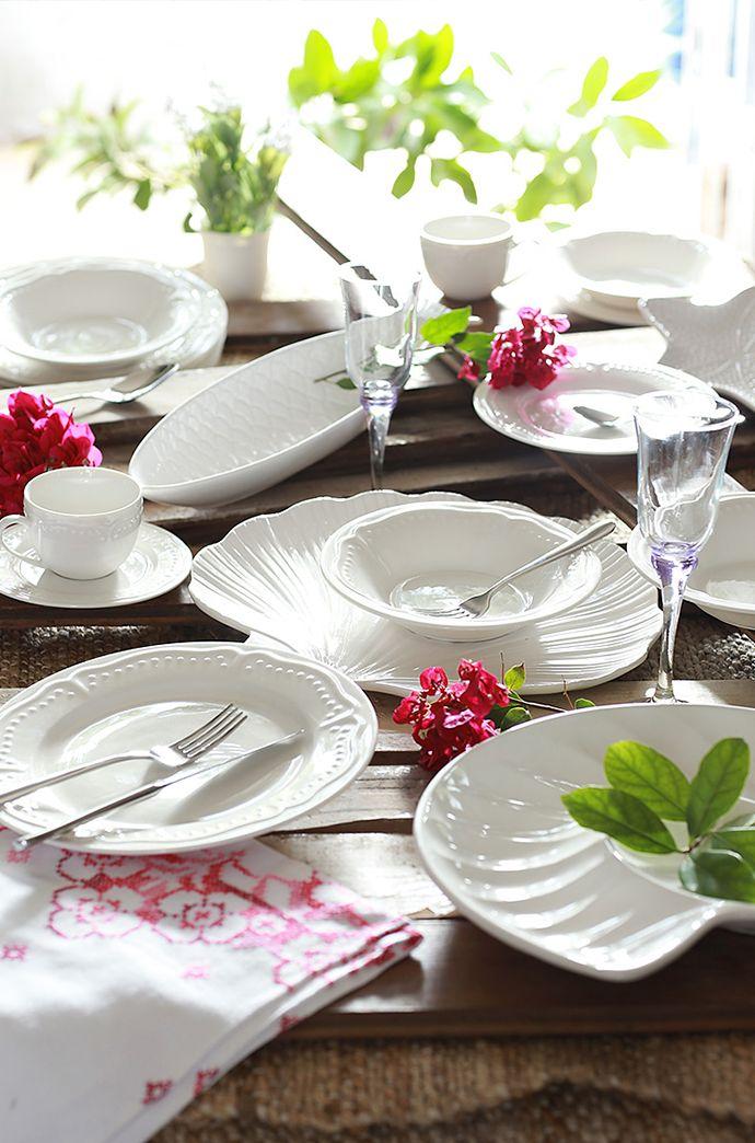 #Clásica y #versátil, la #loza #blanca es perfecta porque se adapta a todos los #estilos. #Menaje #Vajilla #Homy #Invierno #Homy