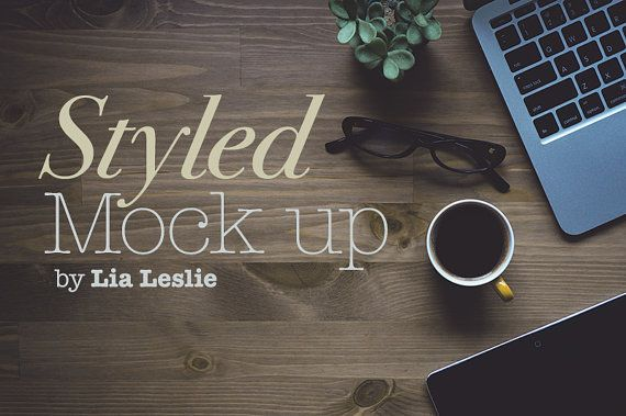 Styled tock photography with laptop Macbook tablet by StrictThemes