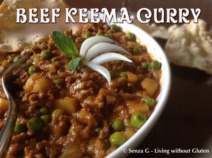 Gluten Free Beef Keema Curry