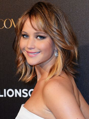 13 best jennifer lawrence lob images on pinterest | hairstyles