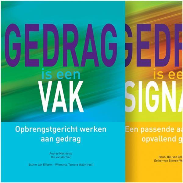Set van 2 boeken: Gedrag is een vak - Gedrag is een signaal
