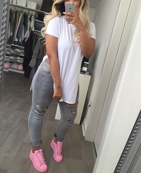 brilliant adidas outfits pink 10