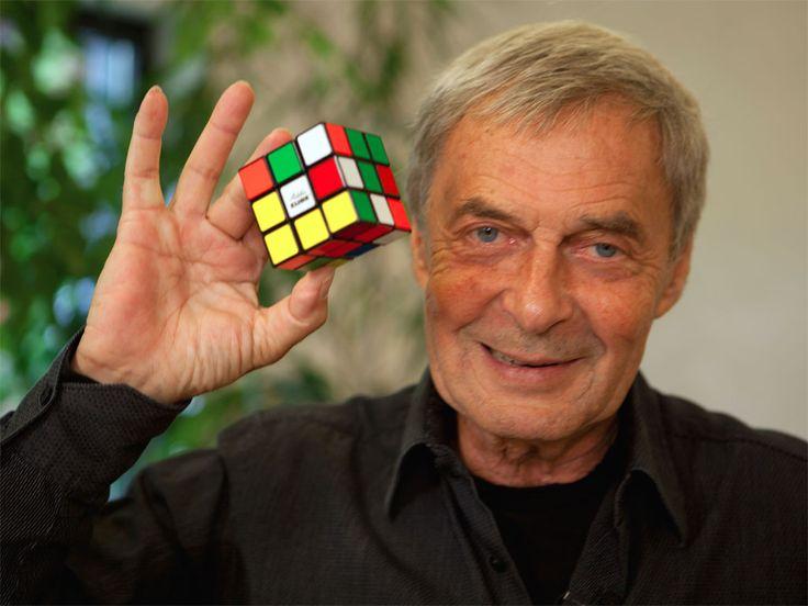 Erno Rubik • L'intera vita è un tentativo di risolvere rompicapi.