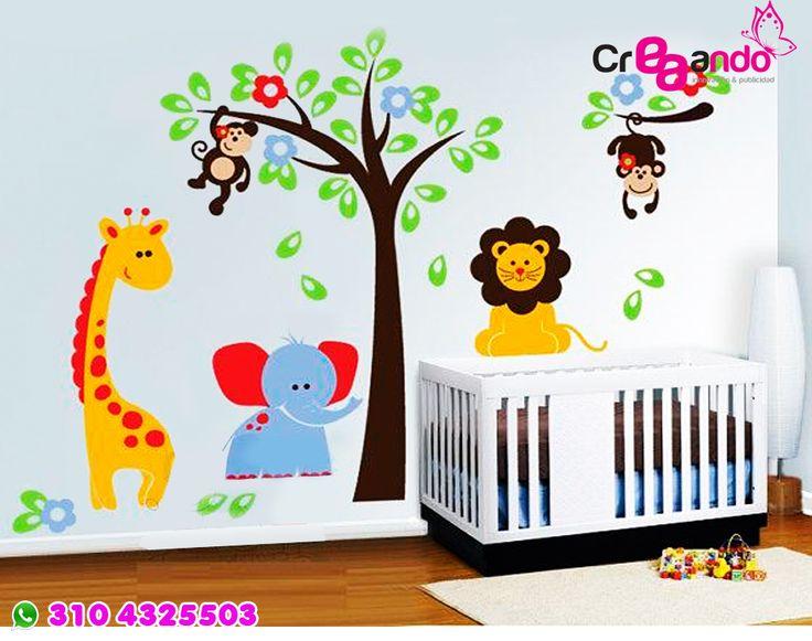 vinilos infantil : jirafa 1 mts alto  mas info Cali 3104325503 Marcela