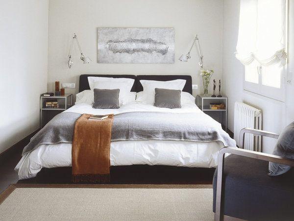17 mejores ideas sobre habitaciones estrechas en pinterest - Apliques pared dormitorio ...