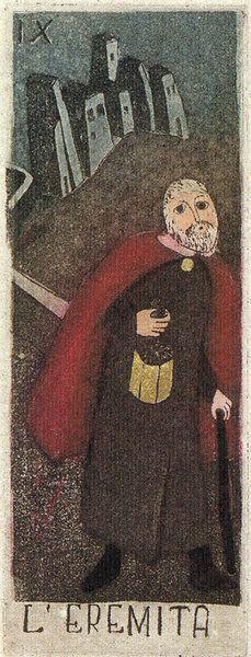 eugene smith illustration animal tarot