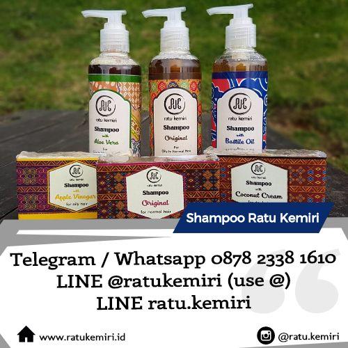 Cari merk shampoo rambut alami yang tidak mengandung sulfat? Ratu Kemiri jawabannya. Tanpa SLS, tanpa paraben, dan tanpa deterjen.