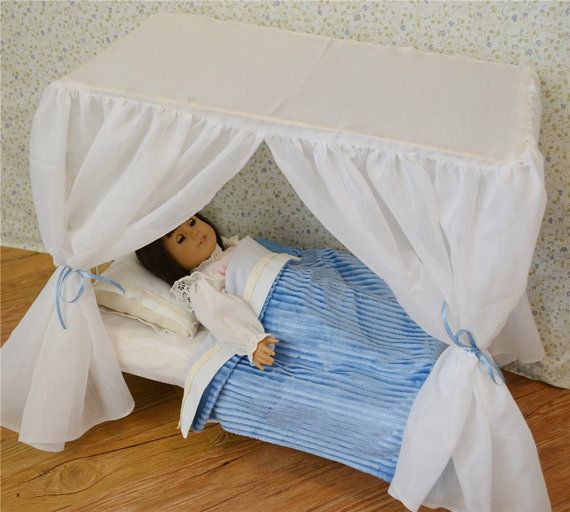 American Girl Canopy Bed Canopy Doll Bed Victorian Antique