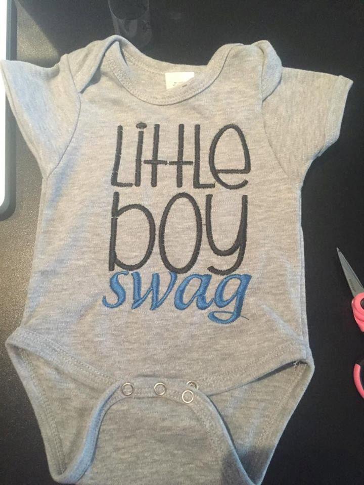 Little Boy Swag by UniqueYouMonogram on Etsy