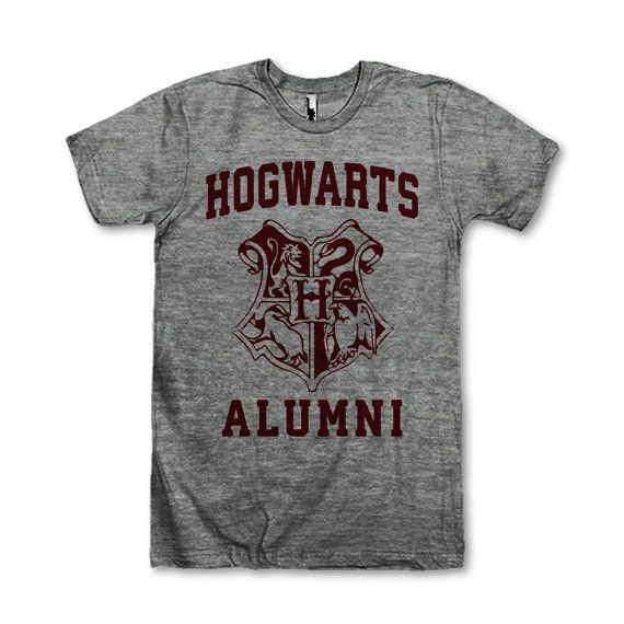 Hogwarts Alumni    This awesome design is printed on American Apparels Athletic tri-blend t-shirt. Youll love its classic fit and ultra-soft