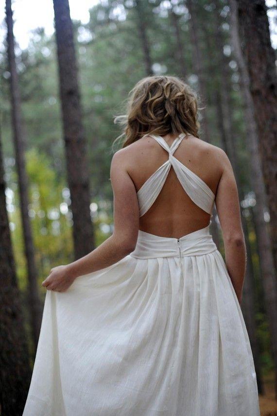 Athena Hemp Wedding Dress