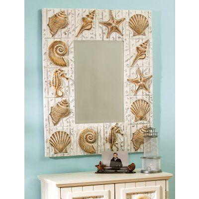 Photo Gallery In Website seashell forter set with yellow walls Seashell Mirrors for Seashell Decor Seashell Wall Decor
