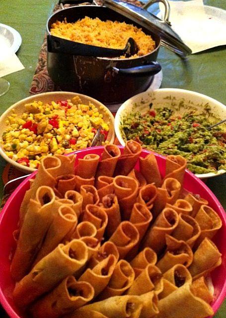 我が家もメキシカン食べに行きましたよ! - 3件のもぐもぐ - フラウタス/ワカモレ、メキシカンライス&コーンサラダ by 幸司