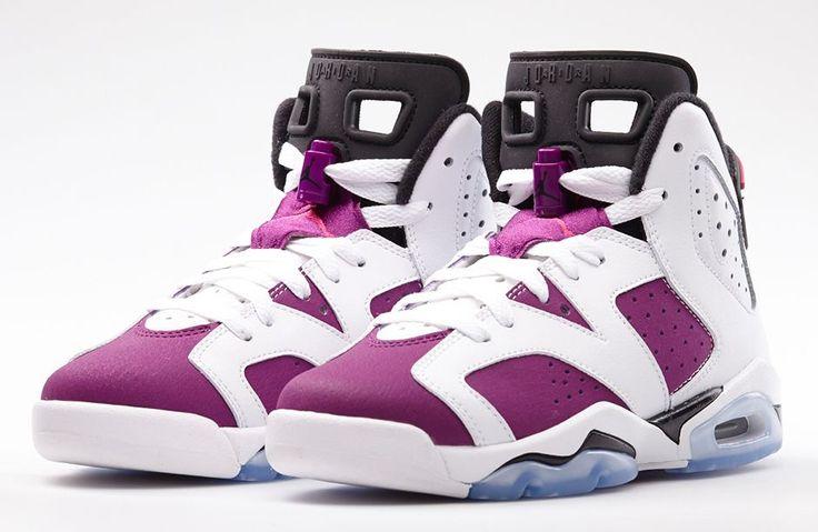 "Air Jordan 6 GS ""Vivid Pink"" (Official Photos) | KicksOnFire.com"