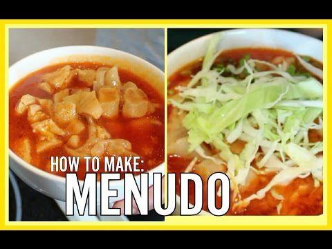 Mexican Menudo Rojo Recipe - Mexican Hangover Soup - YouTube
