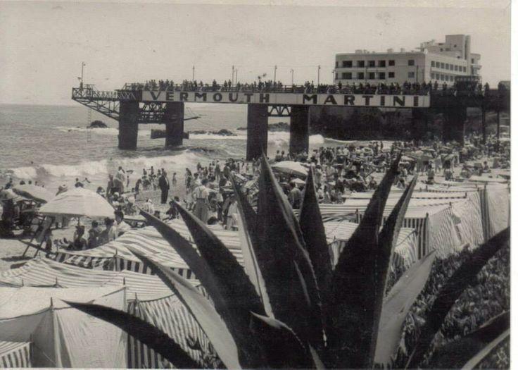 Caleta Abarca, Viña del Mar, 1950