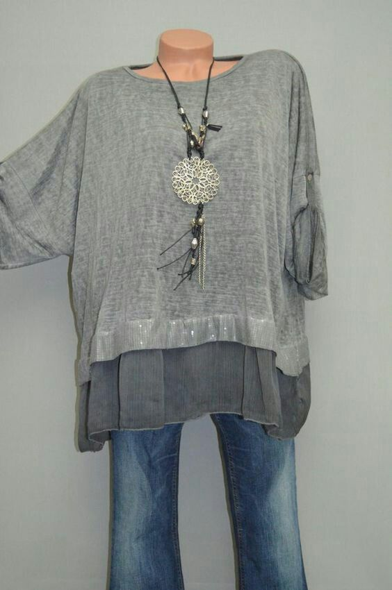 Interesting top- looks cool for summer