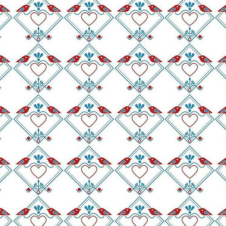 """Grafika z katalogu """"Zwierzęta"""" - Birdspattern http://cottonbee.pl/tkaniny/zwierzeta/5004-birdspattern.html"""