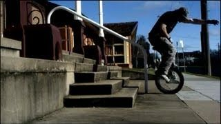Unicycle Stunts. Were Back!