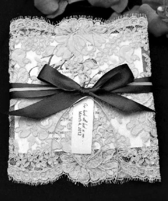Lace - Wedding Invitation