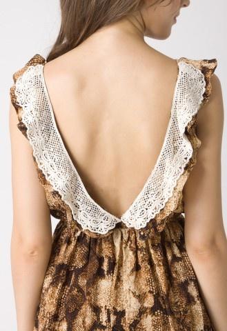 Animal Print Halterneck Dress - BEAUTIFUL! #Chicwish