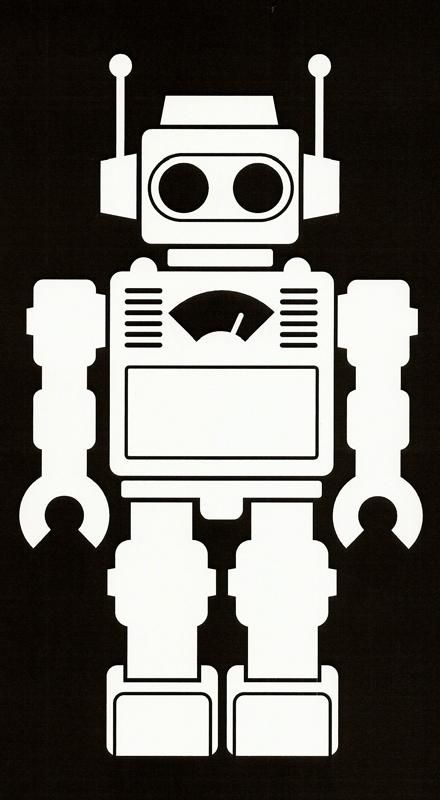 Robot Maybe For Rug Josiah 2015 Pinterest Robot Robot Art
