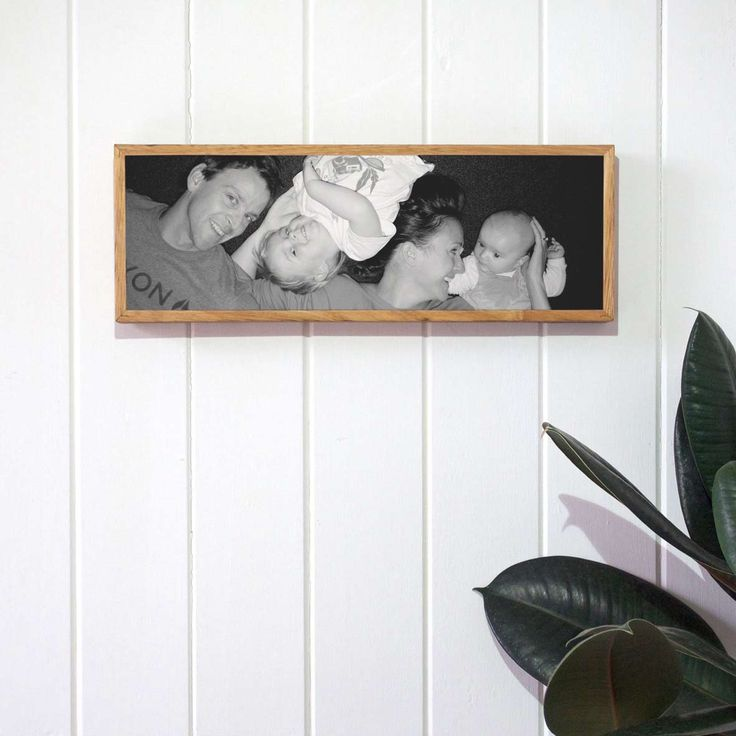 Have your family photos printed on stone by Imogen Stone. Printed on stone and framed in reclaimed timber