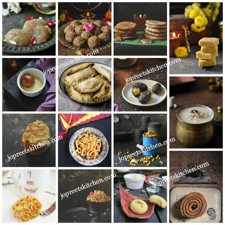 Collection of Diwali Sweets & Savories - 120+ Diwali Recipes