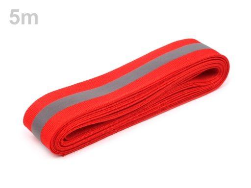 Reflexní páska šíře 30 mm na tkanině
