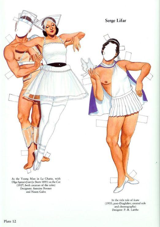 399 best paper doll ballet images on pinterest. Black Bedroom Furniture Sets. Home Design Ideas