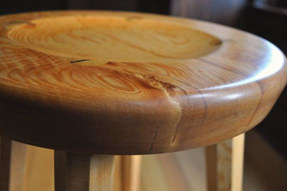 Hearth Stool  Counter Height  Fixed seat with by FrameAndStool