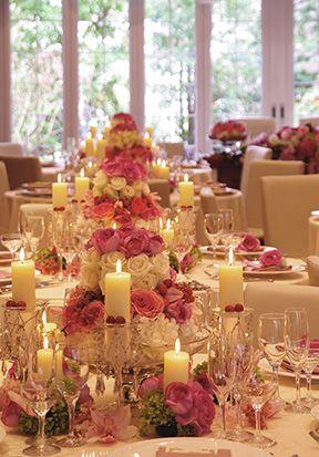 PEU・CONNU [MARIAGE]TABLE DE FLEURS #24
