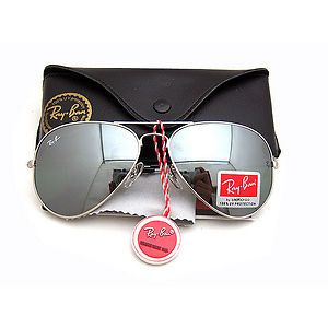 ray ban mirror aviator