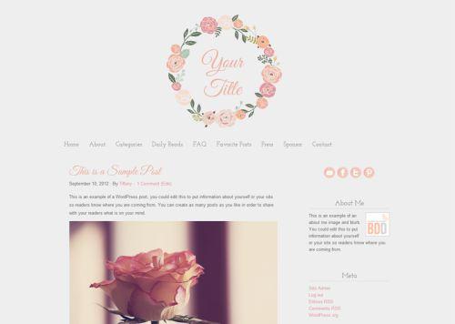 WordPress Themes | Beautiful Dawn Designs - Part 2