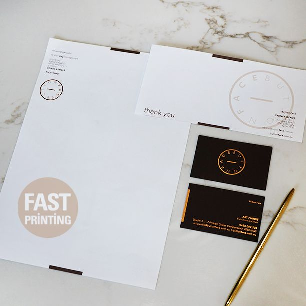 Stationery Set : Letterhead + Compliment Slip + Business Card #stationary #letterhead #complimentslip #businesscard #fastprinting #FP
