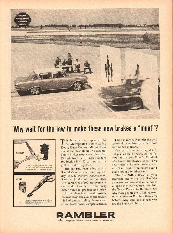 1962 american motors rambler advertisement newsweek may 14 1962