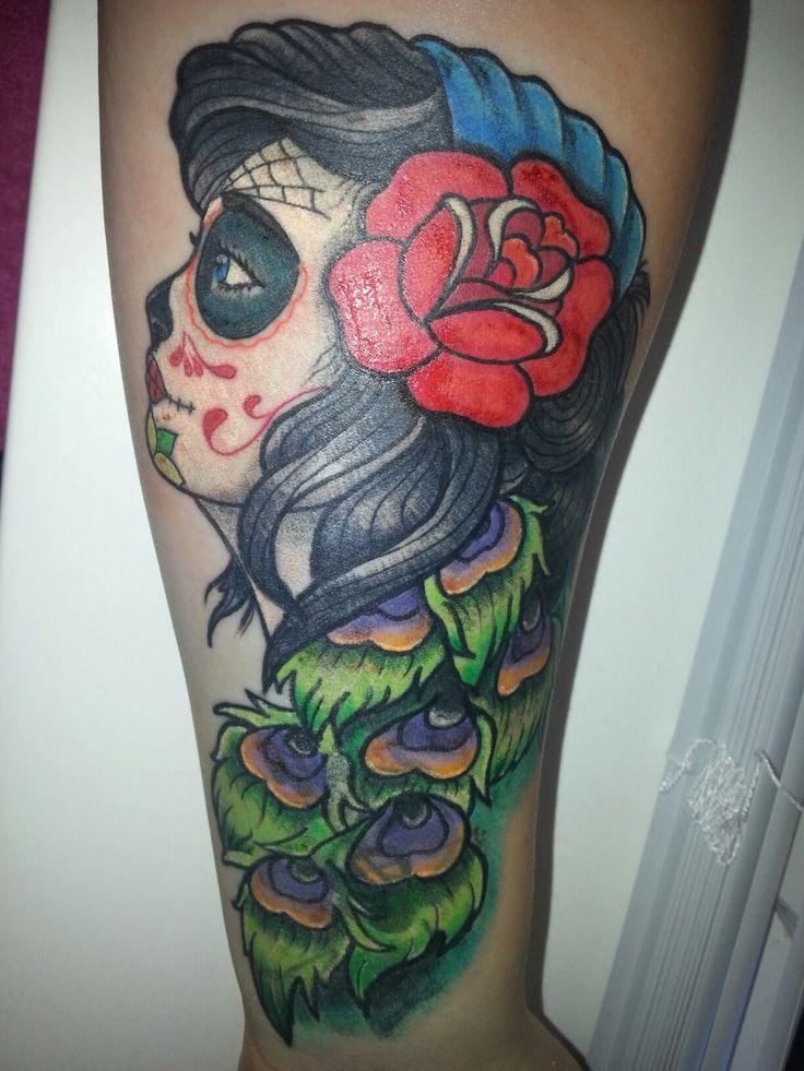 Traditional Dead Tattoos Rockabilly Day