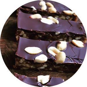 Opskrift på snickerskage uden sukker