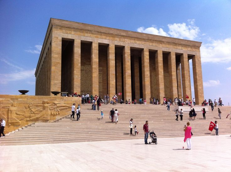 Anıtkabir: Mausoleum of Atatürk, Ankara Turkey