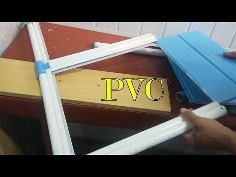 PVC PASSO A PASSO: Passo a Passo Montando PORTA FEITA DE FORRO PVC