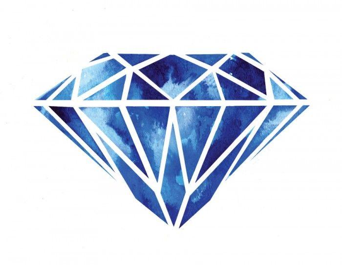Diamond Illustration | Art | Pinterest | Design, Diamond ...
