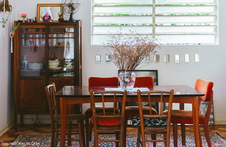 01-decoracao-casa-vintage-chris-campos-sala-jantar - Histórias de Casa