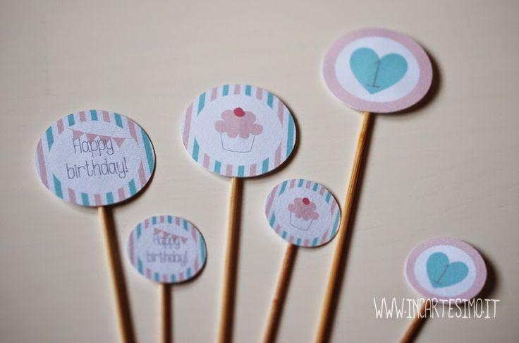 Incartesimo: Menta e rosa per il primo compleanno